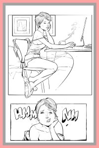Jenifer Lawrence comics preview