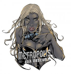 Creating promo art for Metropolis game